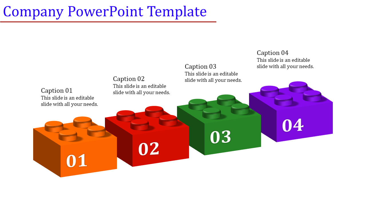 The company powerpoint template Mystery